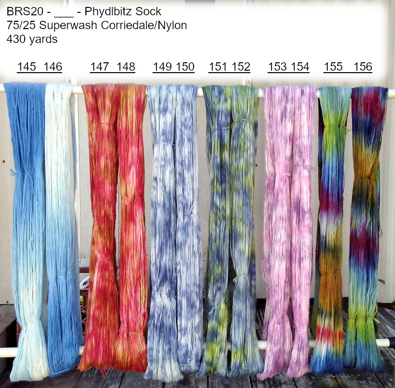 BRS yarns Rack 2